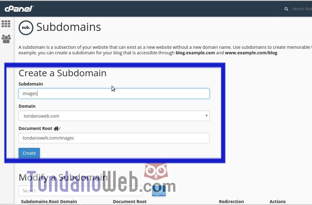 form-subdomain
