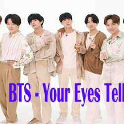 LIRIK DAN MAKNA BTS YOUR EYES TELL