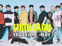 Lirik lagu dan terjemahan treasure - boy
