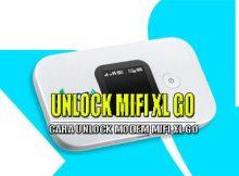 Cara Unlock Modem Mifi XL GO