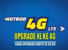 Cara upgrade kartu XL ke 4g tanpa ganti kartu