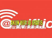 Daftar akun wifi id gratis terbaru