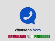 Download dan perbarui Whatsapp Aero