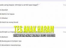 Link Ujian Anak Haram Docs Google Form