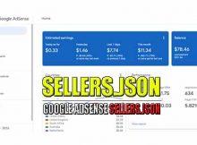 Mengatasi sellers json google adsense