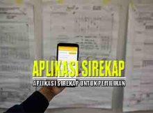 Aplikasi Sirekap Beta untuk Pilkada