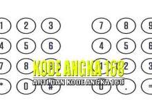 Arti Kode Angka 168