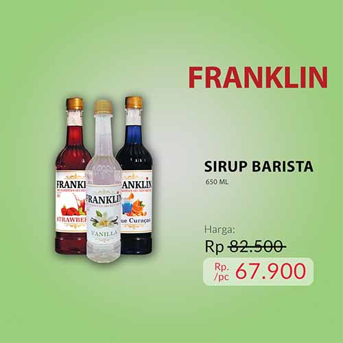Sirup barista - all variant