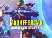 Akun FF Sultan Gratis Yang Tidak Terpakai 2020