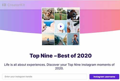Best Nine di Instagram