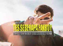 Link Ujian Fakboy Docs Google Form