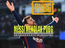 Messi Menolak Ajakan Kolaborasi Dengan Game PUBG