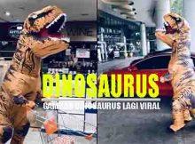 gambar Dinosaurus yang sedang viral