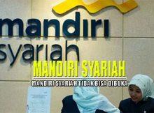 Aplikasi Mandiri Syariah Tidak Bisa Dibuka