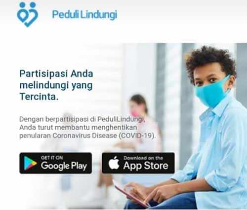Aplikasi PeduliLindungi id