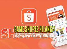 Game Shopee Hilang