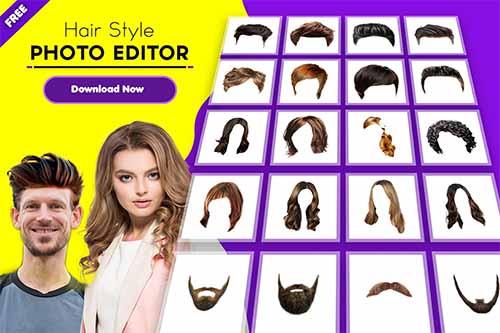Hair Styler App For Women