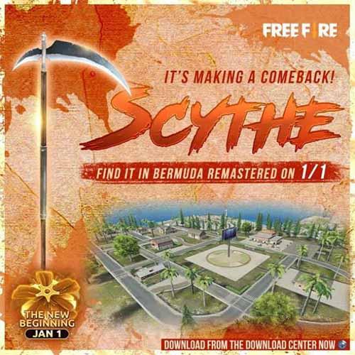 Kuis Free Fire Bermuda Remastered