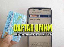 Link Daftar UMKM Online 2021
