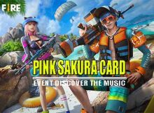 Pink Sakura Card Free Fire