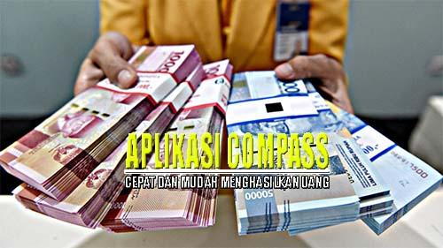 Aplikasi Compass Penghasil Uang Tondanoweb Com
