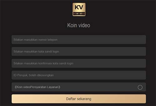 Aplikasi Kv Koin Video Penghasil Uang Tondanoweb Com