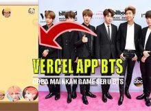 Vercel App Game BTS, Seru Buat Para Army