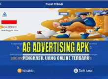 AG Advertising Apk Penghasil Uang