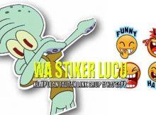 Link Grup WA Stiker Lucu, Yuk Gabung Sebelum Kepenuhan