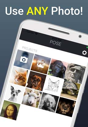 POSE - Talking Pictures app