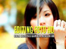 Cara HD in Foto di HP Tanpa Aplikasi