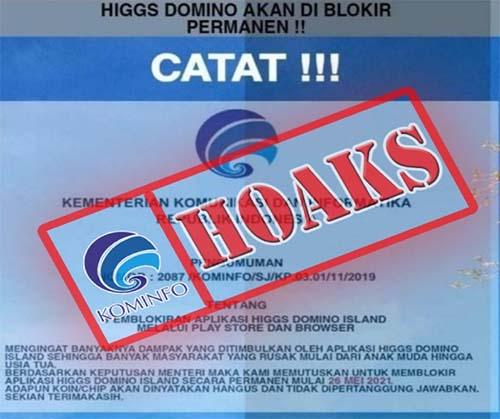 Pemblokiran Higgs Domino