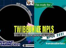 Cara Membuat Twibbon MPLS 2021 Untuk SD, SMP dan SMA