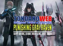 Punishing Gray Raven Global Apk, Gift Code dan Tier List