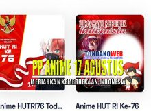 Foto, Gambar dan Background PP Anime 17 Agustus