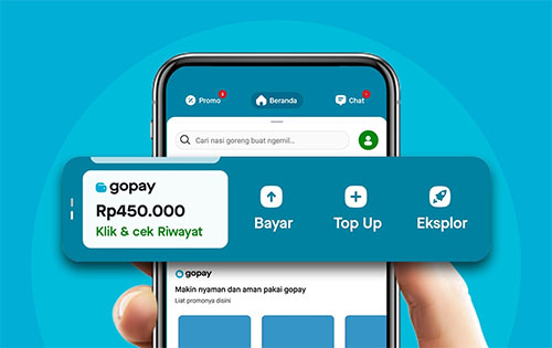 Aplikasi GoPay Mod Apk